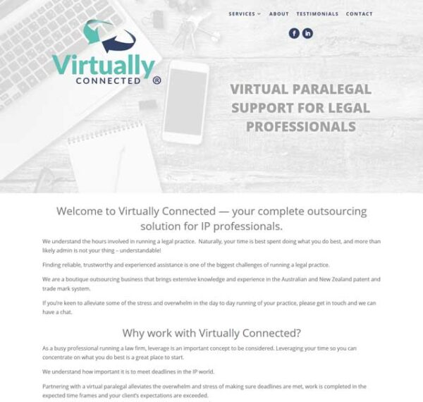 Virtually Connected by Christine Kelly