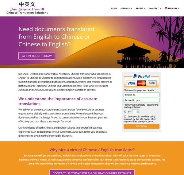 Chinese Translation Solutions