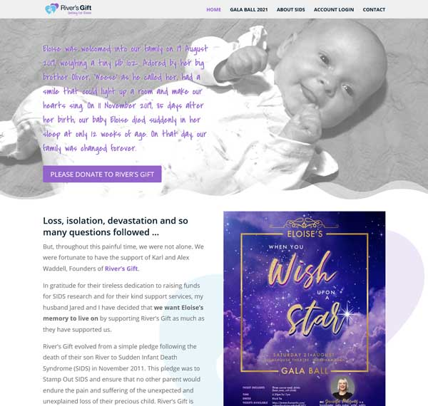 Uniting for Eloise SIDS fundraiser